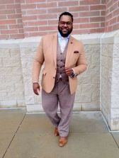 Plus size big and tall mens fashion outfit style ideas 4