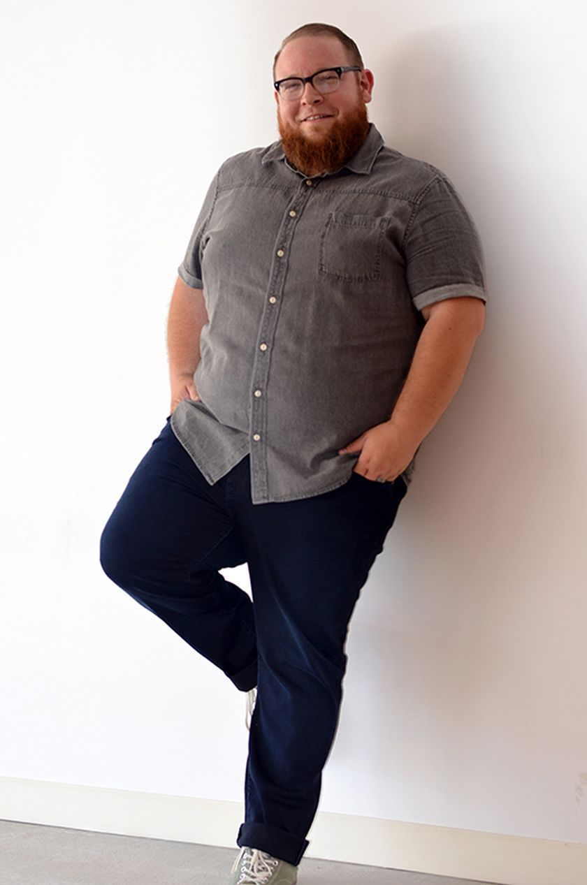 Plus size big and tall mens fashion outfit style ideas 44