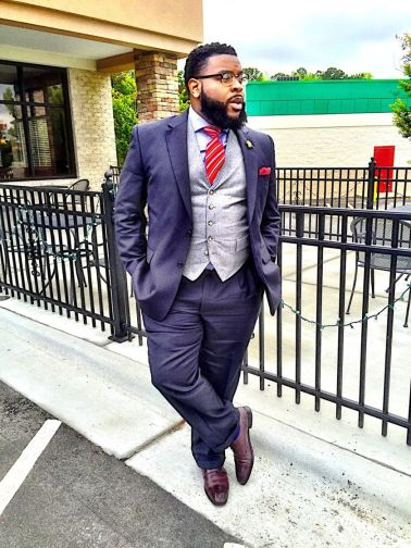Plus size big and tall mens fashion outfit style ideas 45