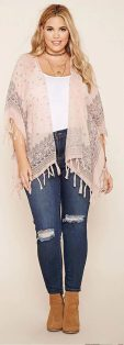 Plus size boho outfit style 12
