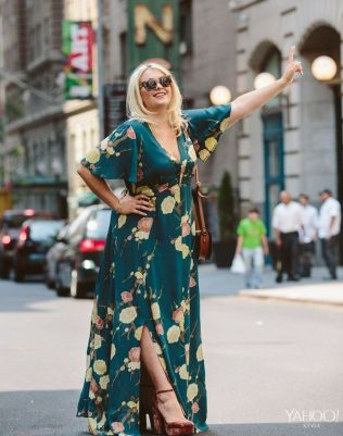 Plus size boho outfit style 24