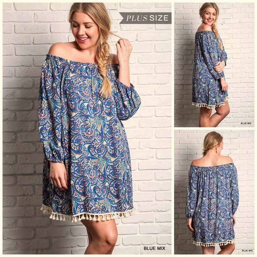 Plus size boho outfit style 30