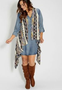 Plus size boho outfit style 5