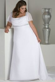 Plus size wedding dresses with sleeves 19