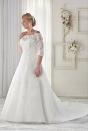 Plus size wedding dresses with sleeves 11