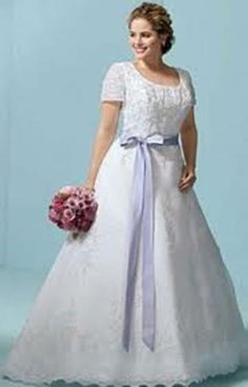 plus size wedding dresses with sleeves 10 - fashion best