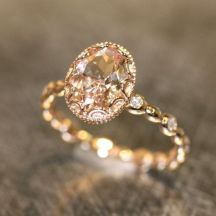 Rose gold solitaire ring for wedding 31