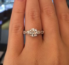Rose gold solitaire ring for wedding 33