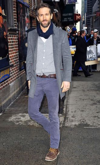 Ryan reynolds casual outfit style 16