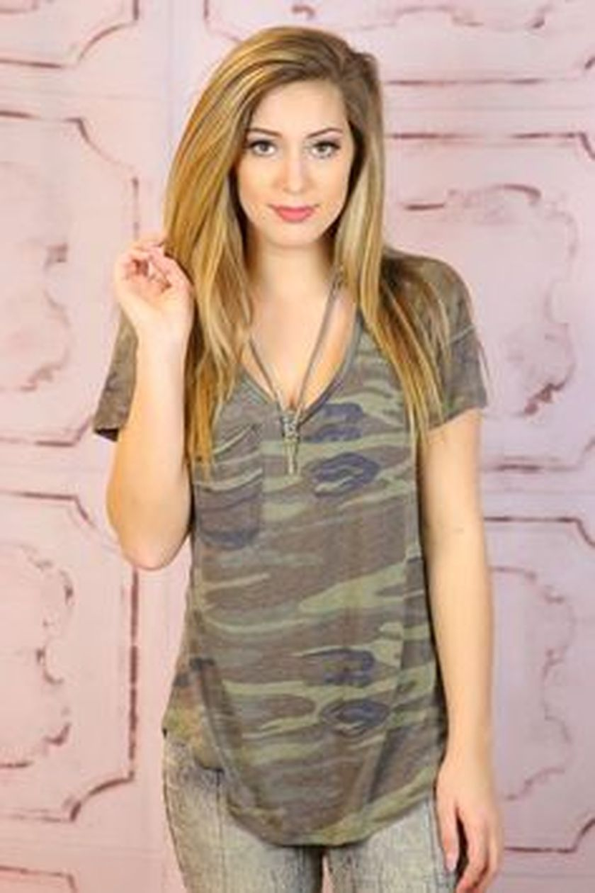 Sexy soft v neck tees women outfit style 34