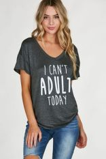 Sexy soft v neck tees women outfit style 52