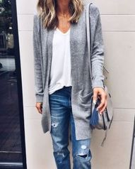 Sexy soft v neck tees women outfit style 67