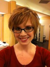 Short hair pixie cut hairstyle with glasses ideas 61