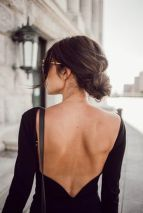 Summer casual backless dresses outfit style 1