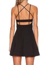 Summer casual backless dresses outfit style 16