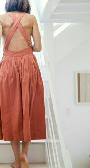 Summer casual backless dresses outfit style 46