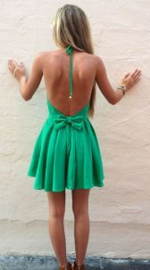 Summer casual backless dresses outfit style 54