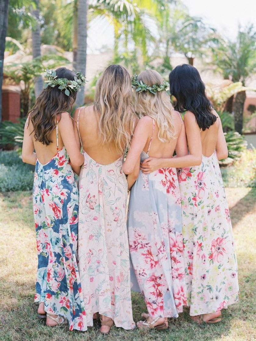 Summer casual backless dresses outfit style 69