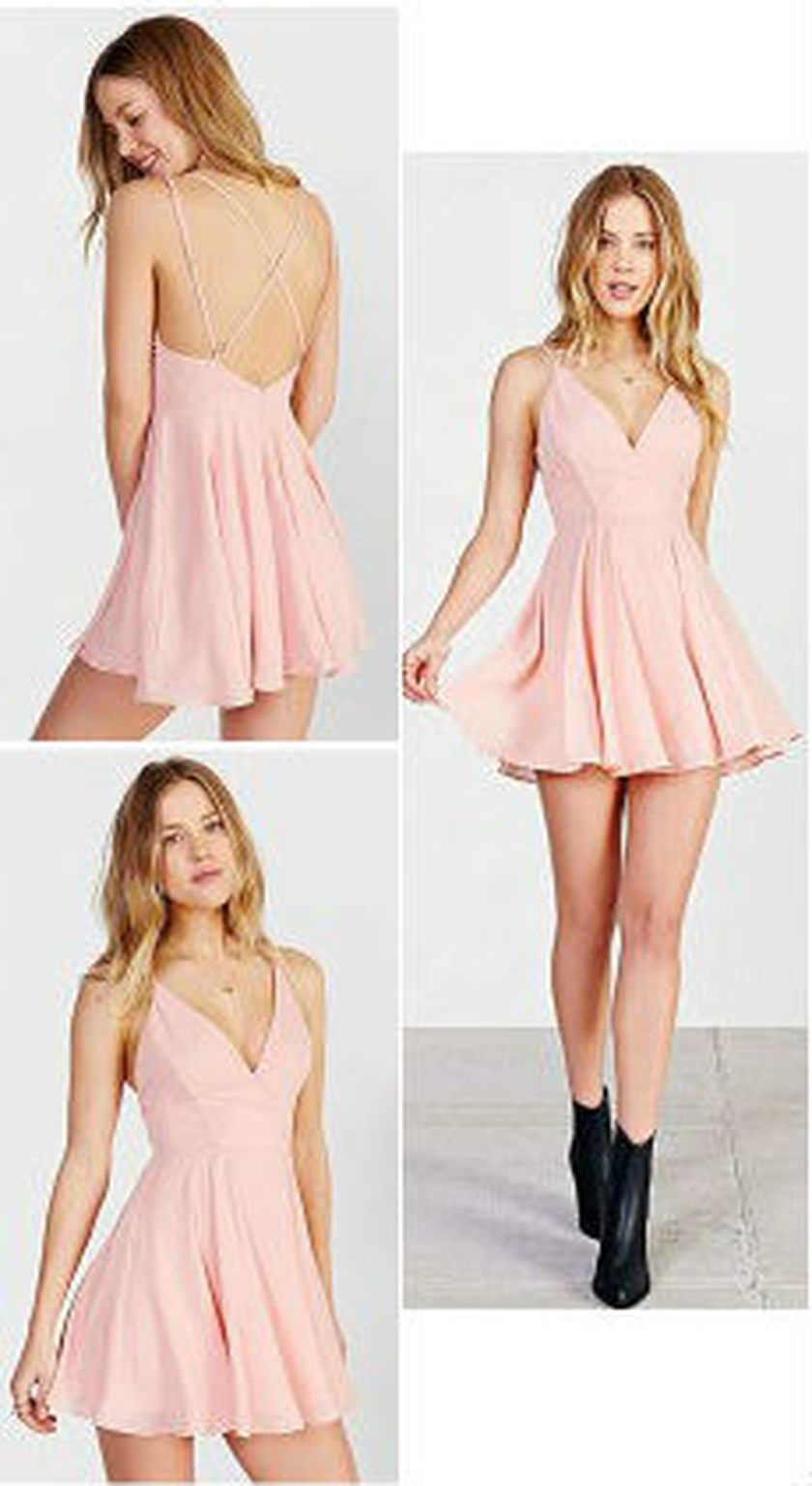 Summer casual backless dresses outfit style 75
