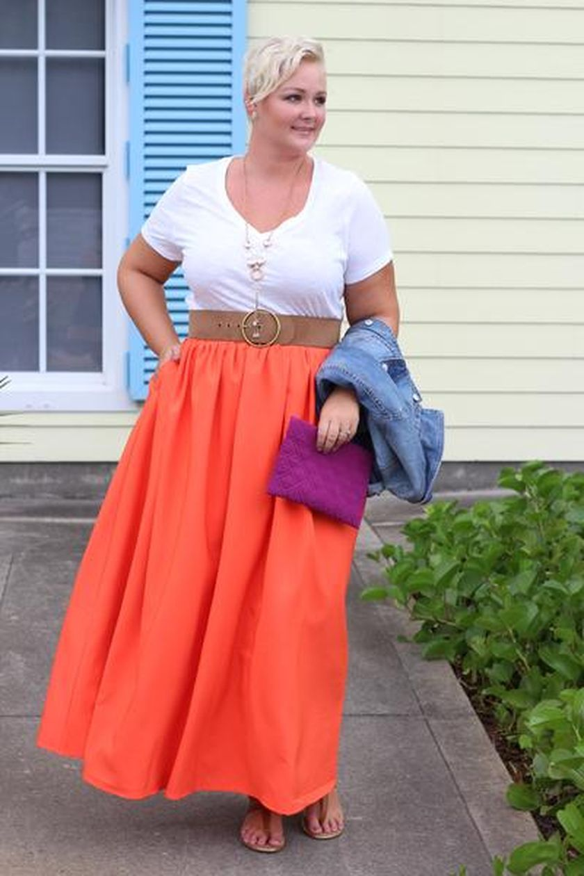 Summer casual work outfits ideas for plus size 27