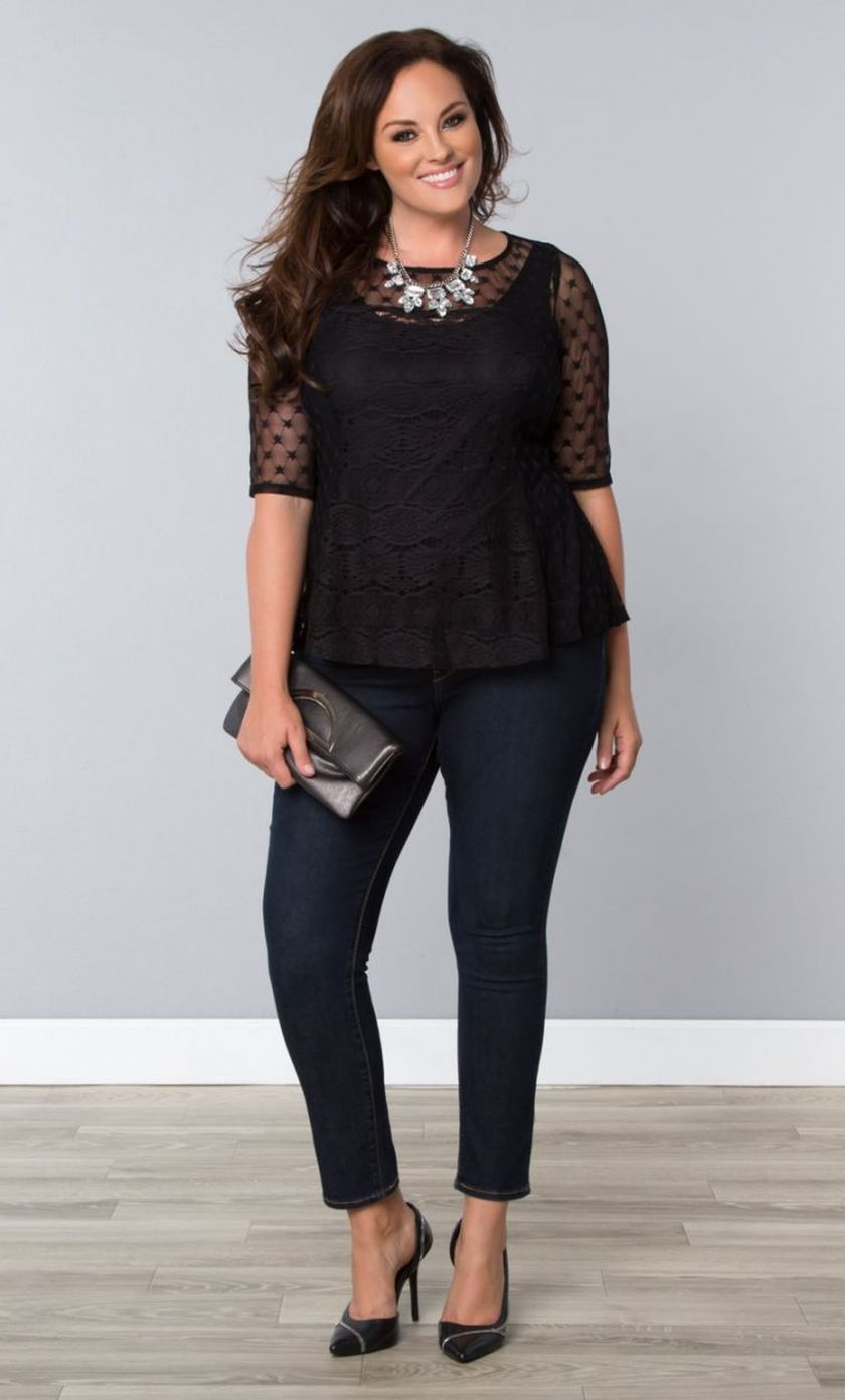 Summer casual work outfits ideas for plus size 34