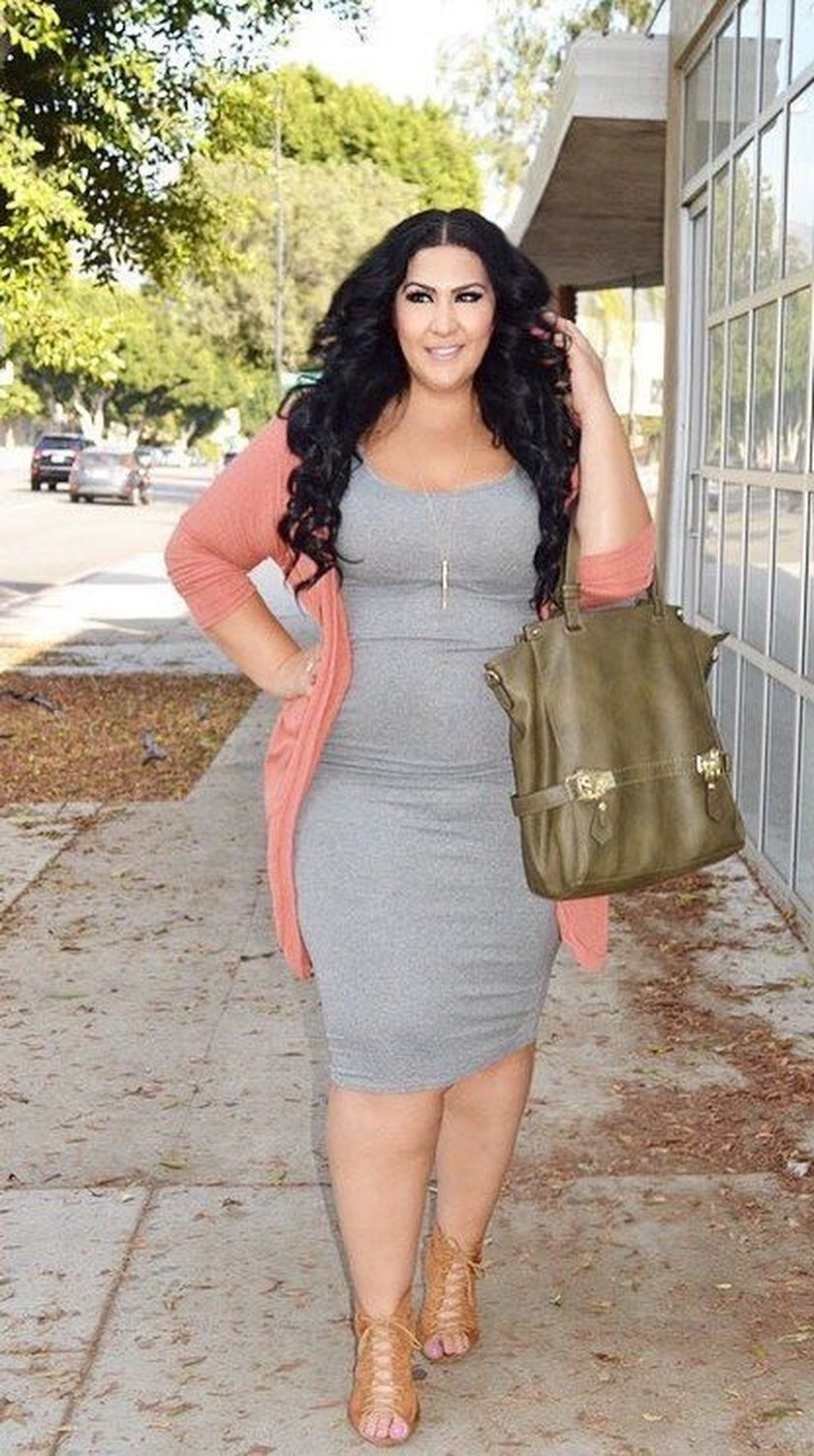 869a2014e468 90 Charming Summer Casual Work Outfits for Plus Size that Should You ...