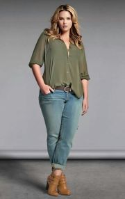 Summer casual work outfits ideas for plus size 5