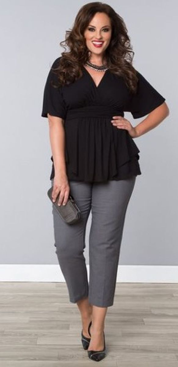 Summer casual work outfits ideas for plus size 53 ...