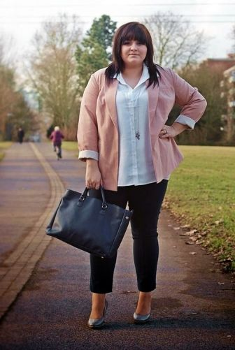 Summer casual work outfits ideas for plus size 72