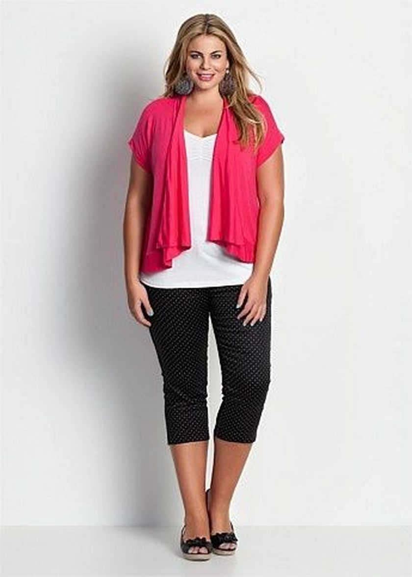 Summer Casual Work Outfits Ideas For Plus Size 75