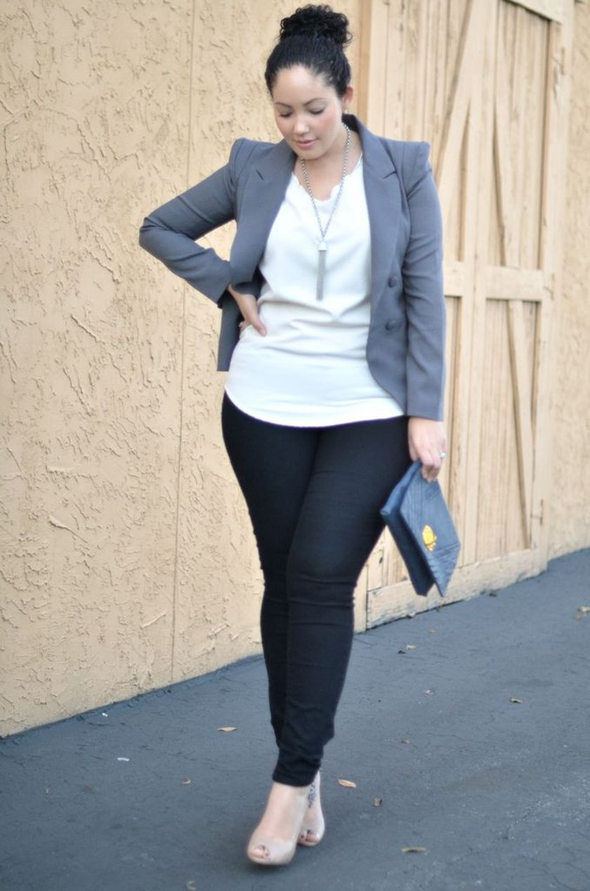Summer casual work outfits ideas for plus size 78