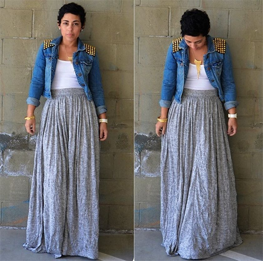 Summers casual maxi skirts ideas 14