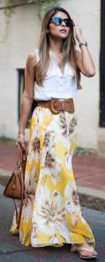 Summers casual maxi skirts ideas 38