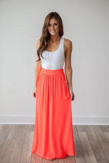 Summers casual maxi skirts ideas 42