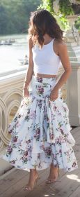 Summers casual maxi skirts ideas 50