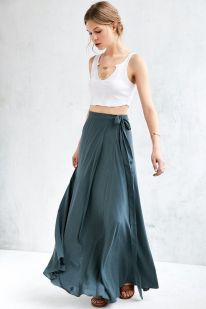Summers casual maxi skirts ideas 56