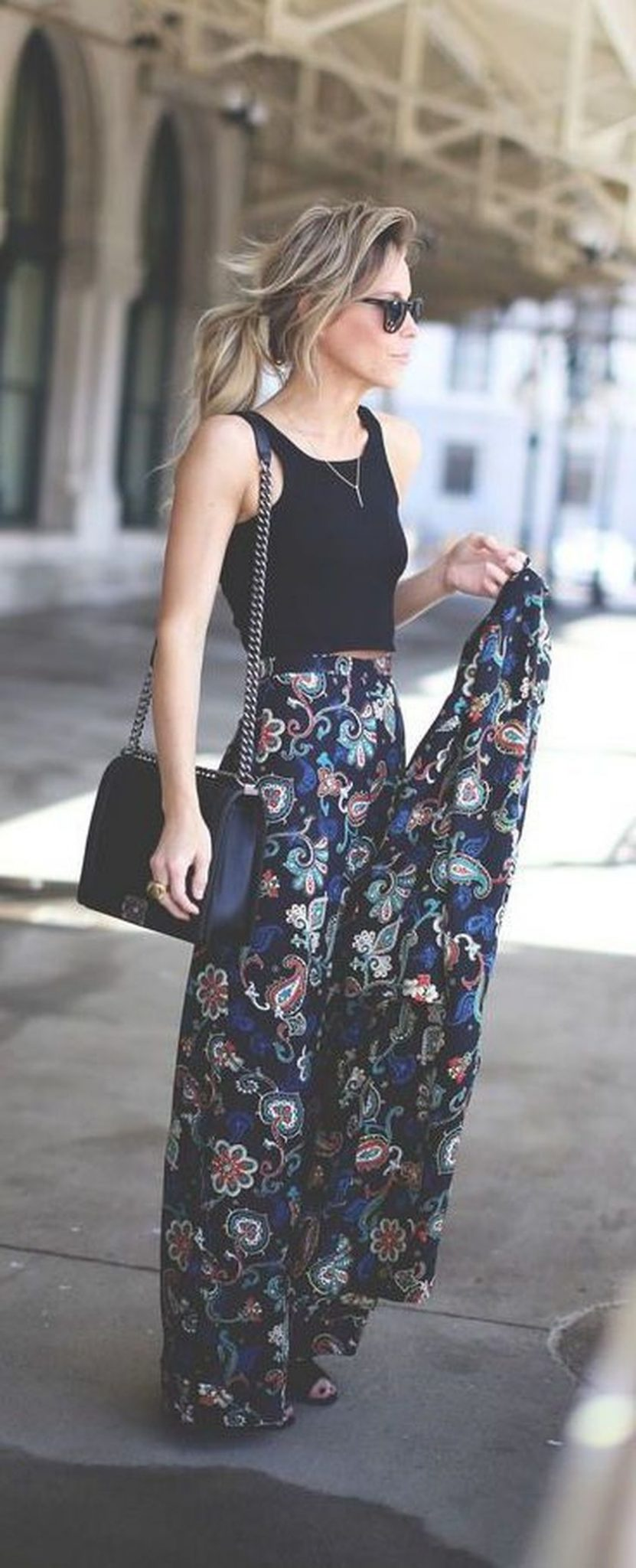 Summers casual maxi skirts ideas 59