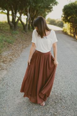 Summers casual maxi skirts ideas 69