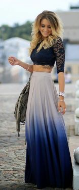 Summers casual maxi skirts ideas 71