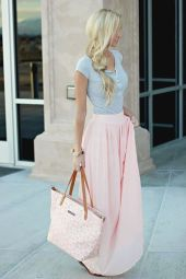 Summers casual maxi skirts ideas 75