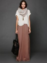 Summers casual maxi skirts ideas 76