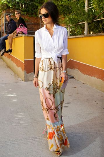 Summers casual maxi skirts ideas 80