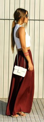 Summers casual maxi skirts ideas 81