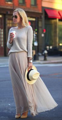 Summers casual maxi skirts ideas 83
