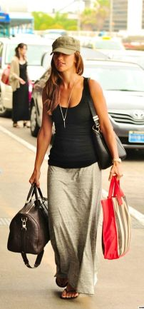 Summers casual maxi skirts ideas 86