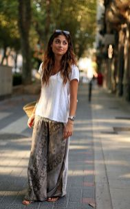 Summers casual maxi skirts ideas 91