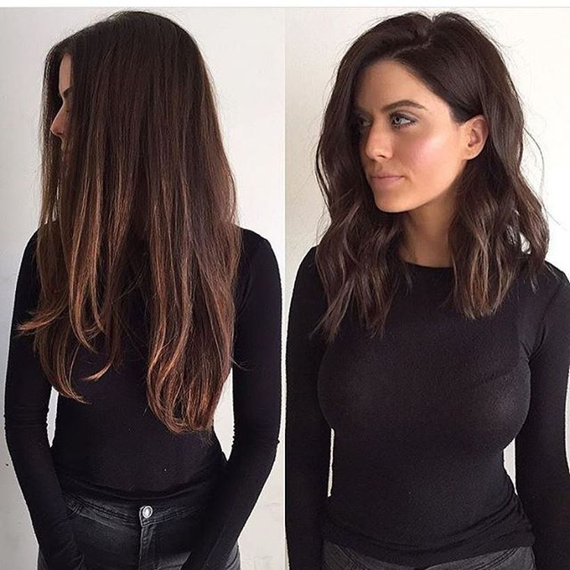 Awesome lobs styling haircut 46