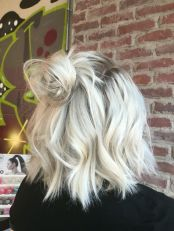 Awesome lobs styling haircut 8