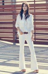 Awesome oversized white shirt outfit style ideas 1