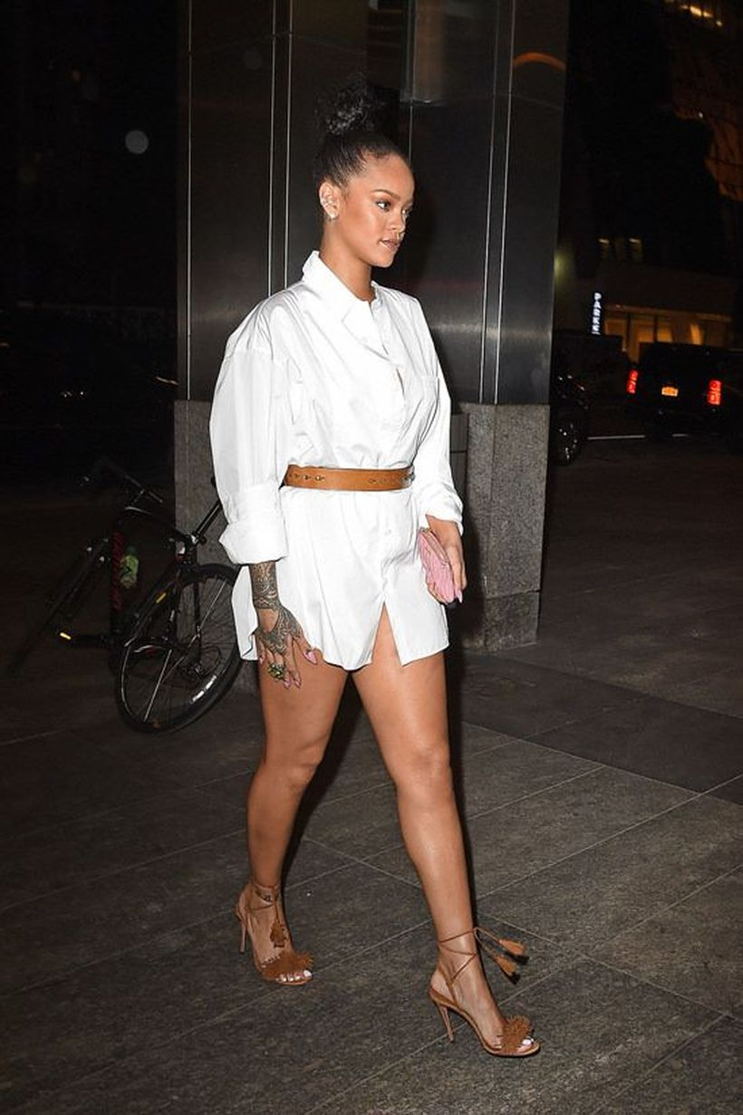 Awesome oversized white shirt outfit style ideas 40